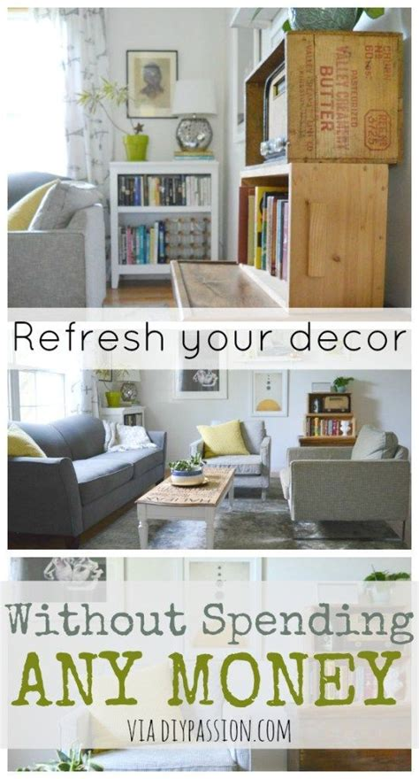 how to decorate my room without spending money refresh your decor without spending any money money