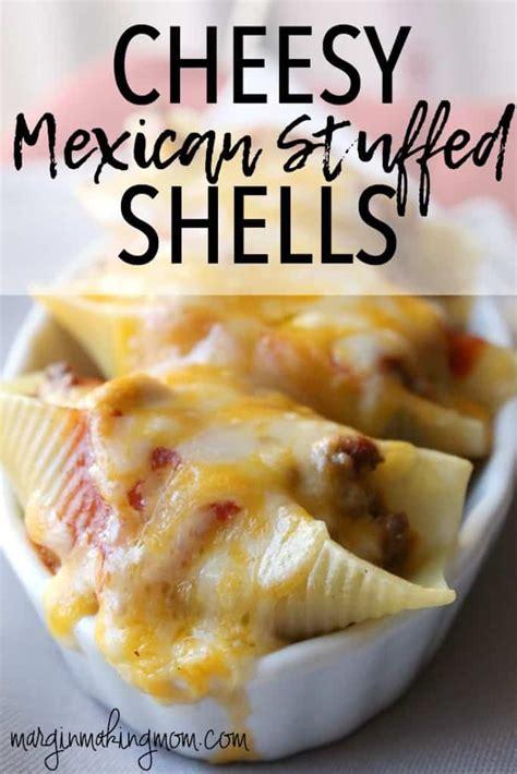 Link Cheesy Shells by Cheesy Mexican Stuffed Shells Margin