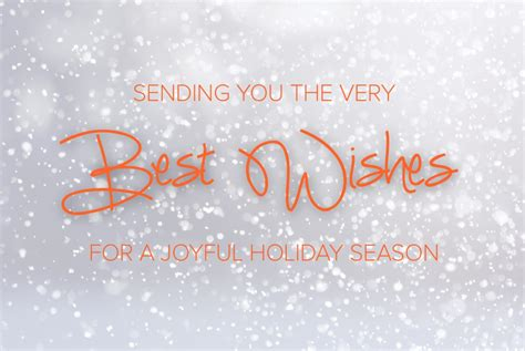 sending best wishes sending you the best wishes for a joyful season