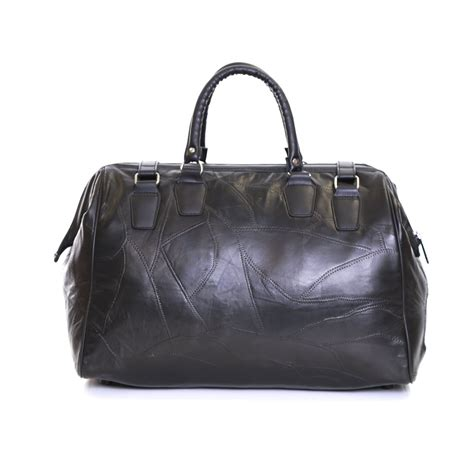 Ebay Cabin Bags by Real Leather Travel Cabin Weekender Luggage Handbag