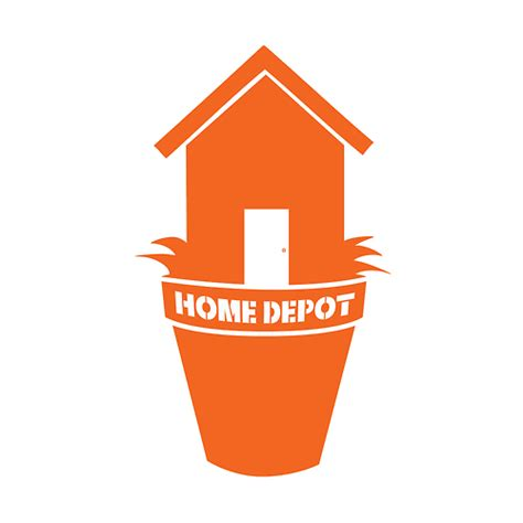home depot icons on behance