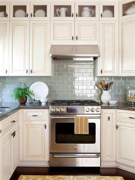 kitchen backsplash with cabinets kitchen backsplash ideas better homes and gardens bhg