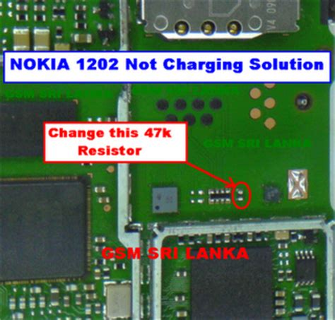 tips and solution nokia new 1202 1203 charging not charging solution tips