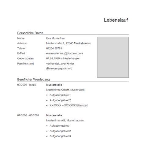 Lebenslauf Vorlagen Muster Kostenlos Vorlage 71 Tabellarischer Lebenslauf
