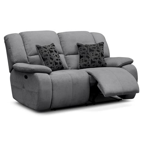 Gray Reclining Loveseat furnishings for every room and store furniture