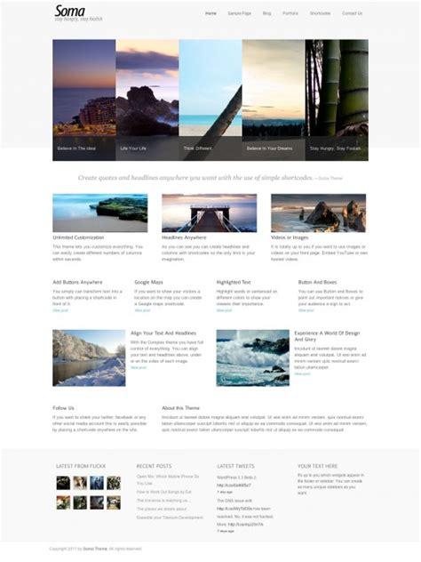 soma modern wordpress theme tutorialchip