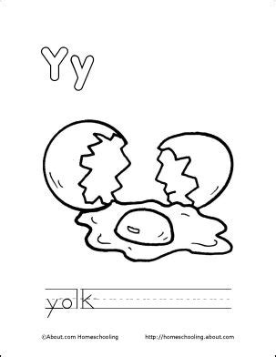 egg yolk coloring page 17 best images about april letter y on pinterest bubble