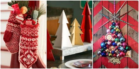 christmas decorations ideas to make at home 41 diy christmas decorations christmas decorating ideas
