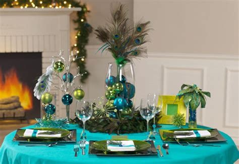 Link Festive Table Tops by Waffa S The Ceiling Was Decorated With Blue And