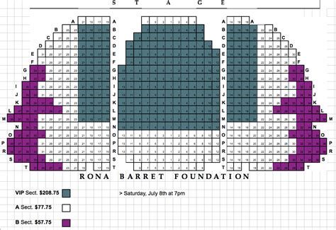count basie theatre seating plan lobero theatre a benefit concert for the rona barrett