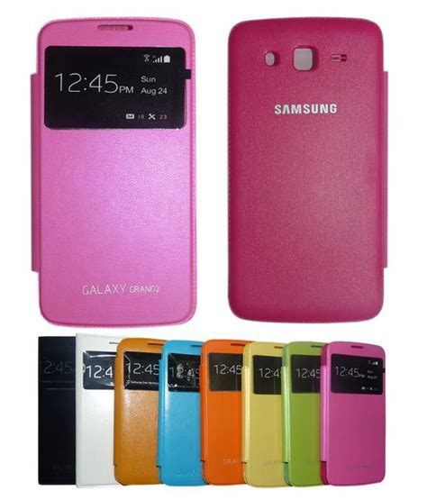 Flipcaseflipcover Samsung Grand 2 aara pink s view flip cover for samsung galaxy grand 2 s7102 s7106 buy aara pink s view