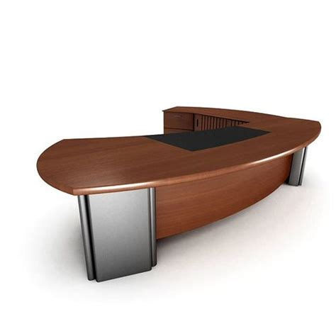 executive luxury office desk 3d cgtrader