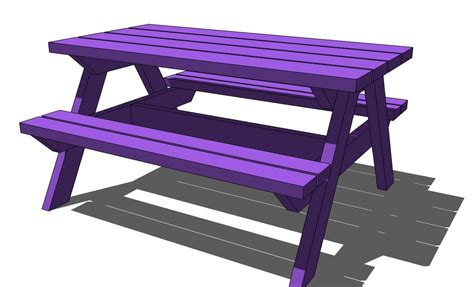 knock picnic table plans knock picnic table plans build by own