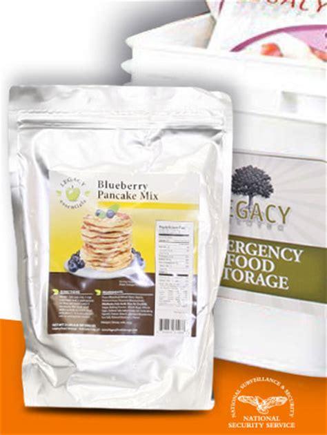Shelf Of Pancake Mix by 25 Year Shelf Freeze Dried Blueberry Pancake Mix