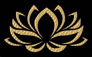 Gold Lotus Clipart Golden Lotus Flower
