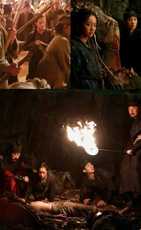 film perang monster penuh kobaran api hyeri dan choi woo shik kalah perang di