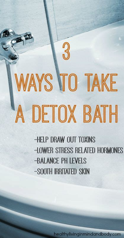Take Detox by 3 Ways To Take A Detox Bath Http Bit Ly Kg6op8 We All