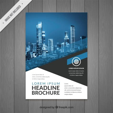 modern design modern business flyer design vector free
