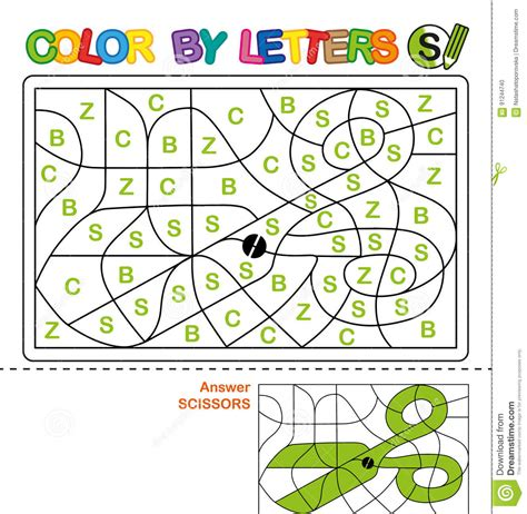 3 letter colors color by letters learning the capital letters of the