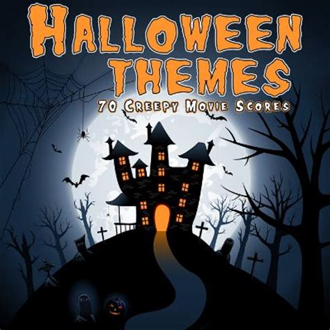 tv themed halloween music halloween themes 70 creepy movie scores various artists