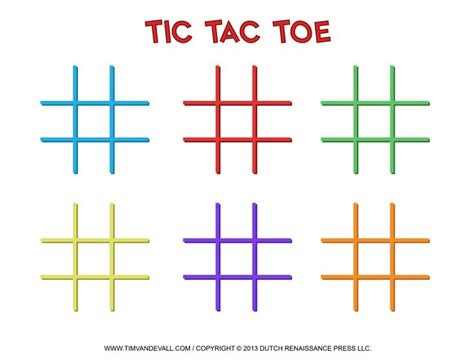 144 best tic tac toe game printables images on pinterest