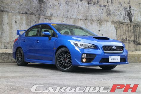 subaru philippines review 2015 subaru wrx sti philippine car news car