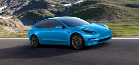 tesla colors tesla model 3 gets rendered in dozens of colors looks