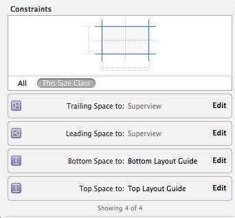 xcode layout guide xcode top layout guide