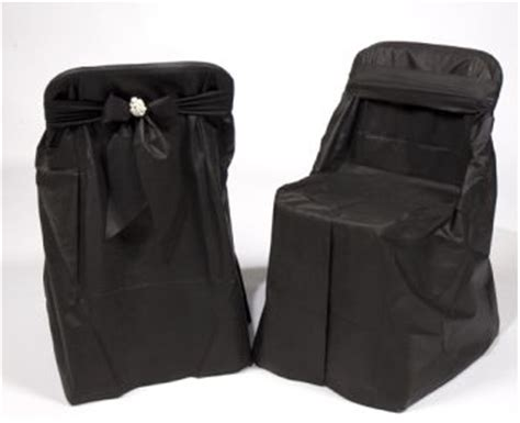 black disposable folding chair covers disposable chair covers black 4 per pack 19119 ebay