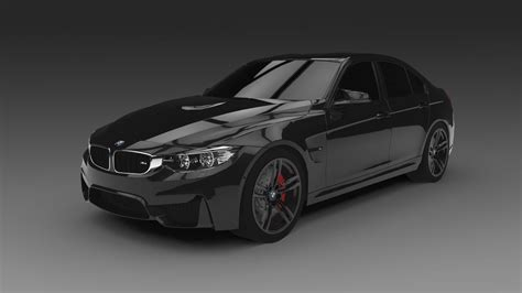 bmw models 2015 2015 bmw m3 f80 3d model obj 3ds fbx c4d cgtrader