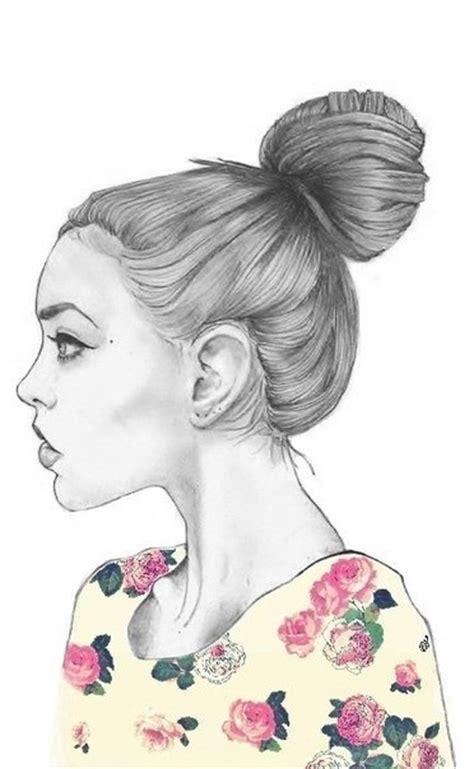 girl illustration drawing www imgkid com the image kid