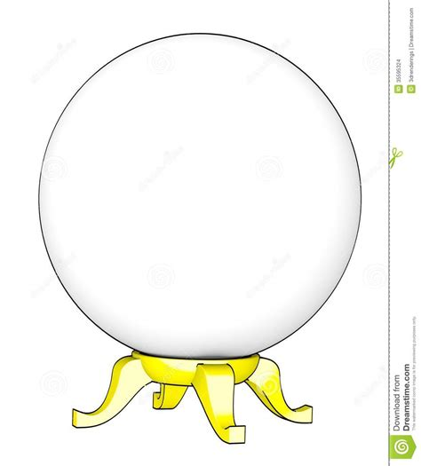 crystal ball stock images image 35595324