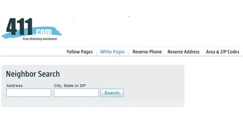 White Pages Address Whitepages Lookup Address