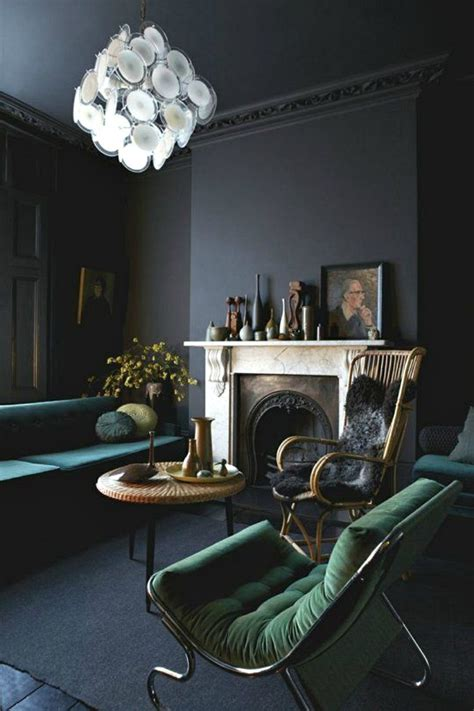 dark gray walls choosing the right shade of grey paint