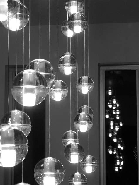 luminaire lustre bocci pluie de luminaires intemporels venu du canada