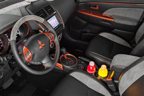 mitsubishi outlander sport 2014 custom custom interior evolutionm mitsubishi lancer and