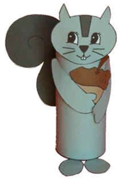 Dltk Toilet Paper Roll Crafts - squirrel squirrel and toilet paper on
