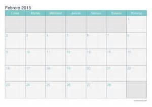 Calendario De Febrero Calendario Febrero 2015 Para Imprimir Icalendario Net
