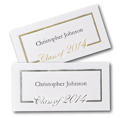 script graduation announcement name card graduate package
