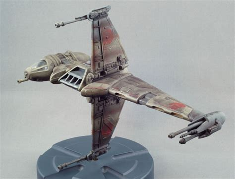 amt ertl 1 94 quot wars quot b wing fighter finescale