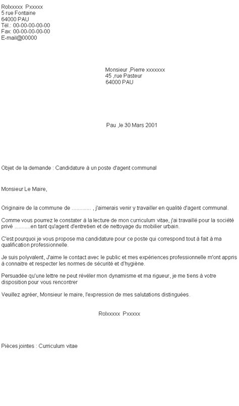Lettre De Motivation De Municipale 8 Lettre De Motivation D Entretien Mairie Exemple Lettres