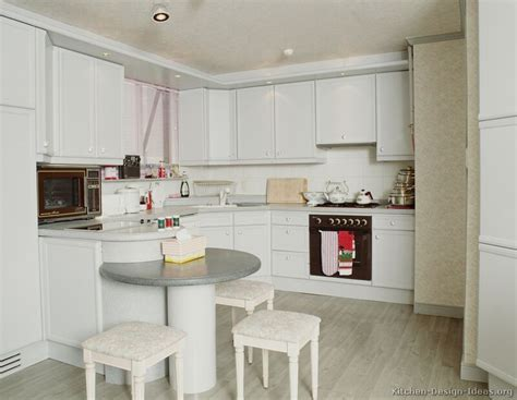 Modern Kitchen With White Cabinets Pictures Of Kitchens Modern White Kitchen Cabinets
