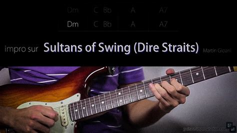 Sultans Of Swing Backing Track by Sultans Of Swing Dire Straits Free Tab Backing Track
