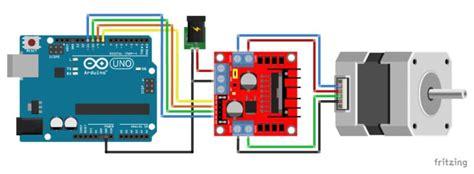 byj  stepper motor  uln arduino  examples