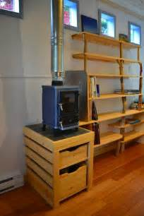 tiny house wood burning stove hornby island caravan s tiny home your next office or