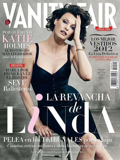 Cover Of Vanity Fair by Evangelista For Vanity Fair Spain