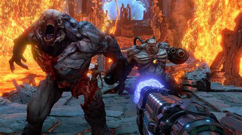 doom eternal monsters baron  hell   wallpaper