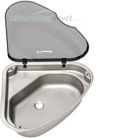 caravan sink with lid spinflo triangular caravan sink with lid r h spinflo