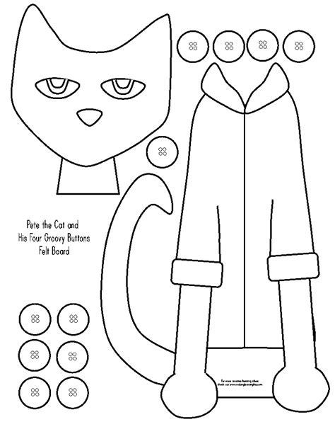 Free Coloring Pages Of Pete Shoe Pete The Cat Coloring Printable