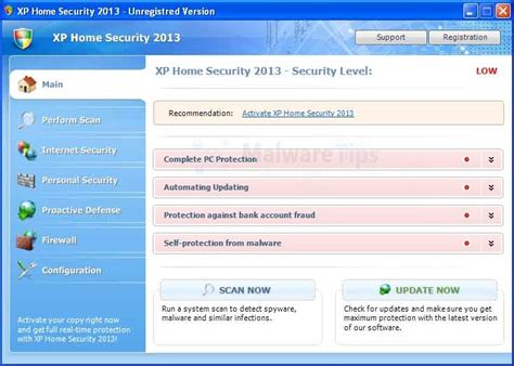 remove xp home security 2013 uninstall guide